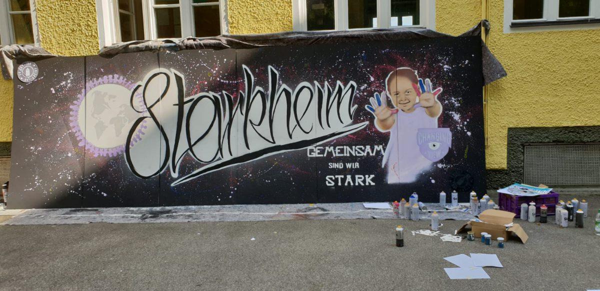 Graffitiprojekt An Der Fachakademie