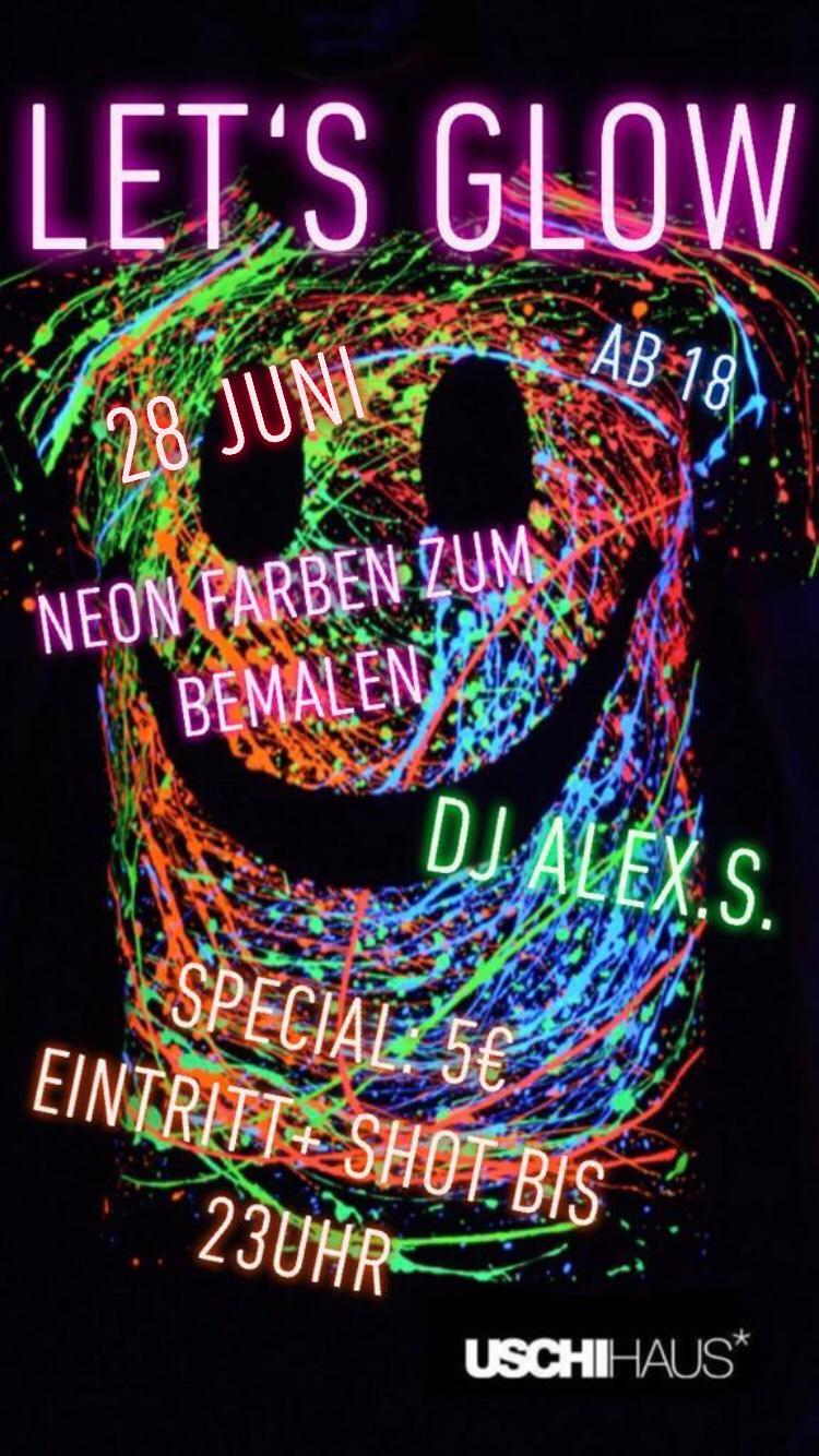 Neonparty Im Uschihaus